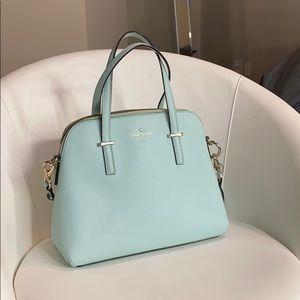 Pastel Blue shoulder purse